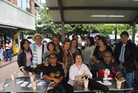 En el 7 encuentro Internacional de Poesia por lapaz Politecnico Jaime isaza Cadavid