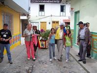 Recorrido I Encuentro Poetas Calle del Recuerdo Municipio de Guatape