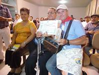 Certificado de Participación y Espiga Dorada Tembladera Perú Encuentro de las artes 2016